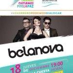 #Acapulco Este jueves 18 de diciembre las @caravanasporpazllevan a @Belanova a Pie de la Cuesta http://t.co/iSebOs0wGy