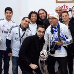 .@MarceloM12 with the fans in Morocco ahead of their semi-final match in the FIFA FCWC 2014 #allinrealmadrid http://t.co/dBb4S3kIc3