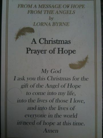 One of my very favorite prayers to use during the Christmas season, by the Angel's Messenger @LornaByrne http://t.co/iAFPd18yP6