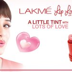 My first campaign is the brand new Lakme Lip Love. In love with it! :) #LipLove @ILoveLakme http://t.co/u6ybWeikMG