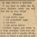 #Cajuns have been makin #Pralines for a lonnnnnnng time! #vintage #recipe @SouthLARecipes http://t.co/jmzt6BjJvd