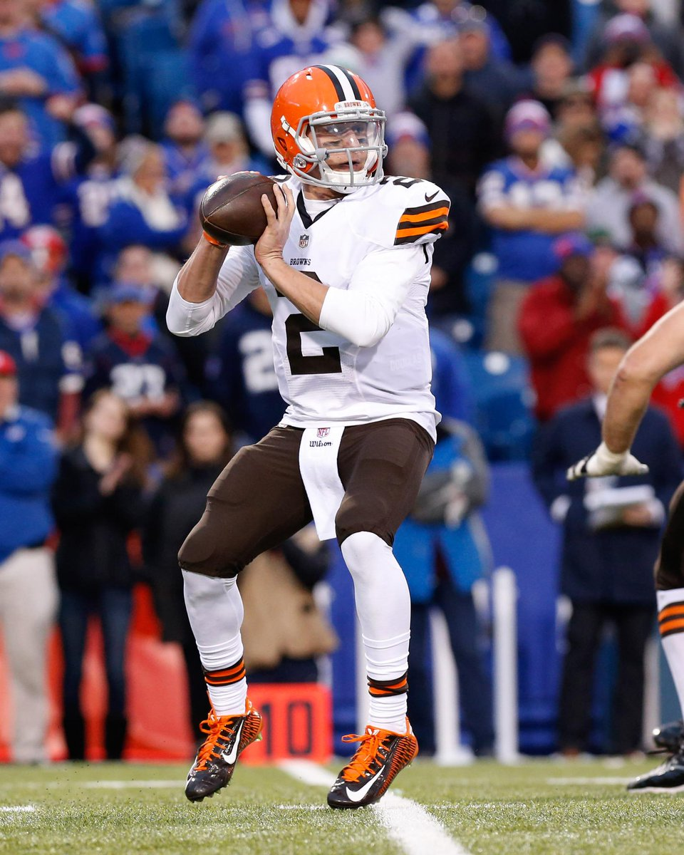 Christmas came early in cleveland! johnny manziel has been named the ...