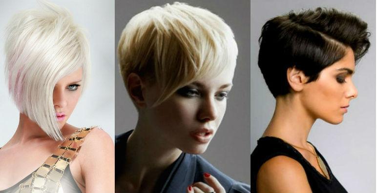 Фото новых стрижек на короткие волосы