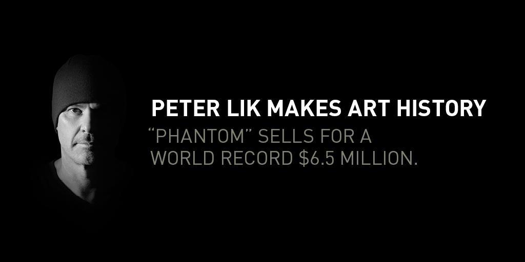 "Peter Lik's ""Phantom"" has sold for a world record $6.5 million http://t.co/dvy06CZPax #PeterLik #Phantom http://t.co/QiqctZUCnu"