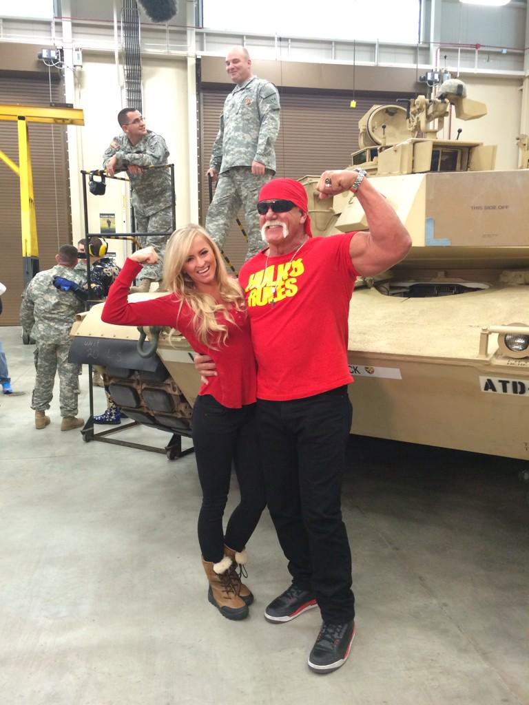 RT @RealSummerWWE: #Troops @HulkHogan http://t.co/5vNks6SgdV