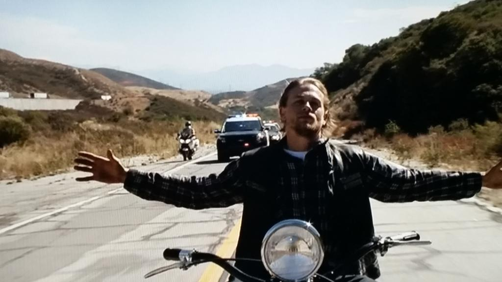 That #folks is how you bring a 7yr #show to a f*cking close.   #SOAFinale #SOA #SOAFX   #Writing #Acting  #Directing http://t.co/dTpHlKhEBZ