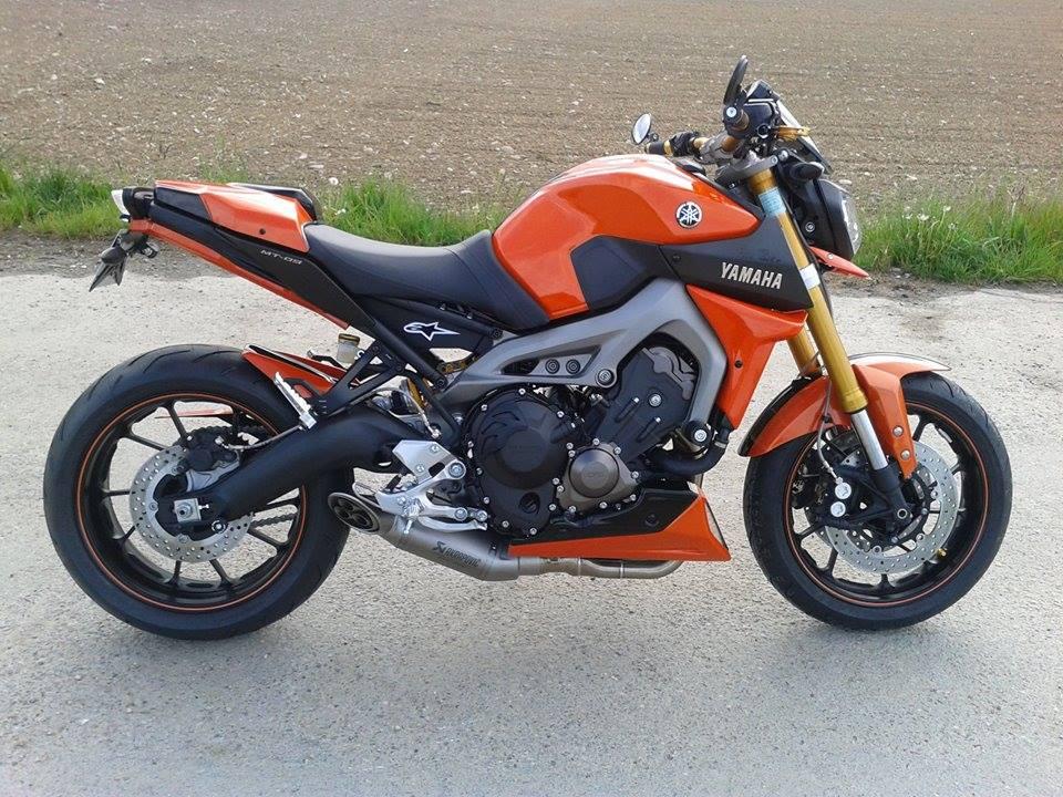 #Yamaha MT-09 préparée par le concessionnaire Free Bike à Hegenheim (68) http://t.co/Z9W852KXsL