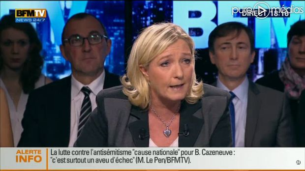 Marine Le Pen : 2h30 d'antenne sur BFMTV en 3 jours http://t.co/9IiZJlDuvB http://t.co/C8NnykLFKB