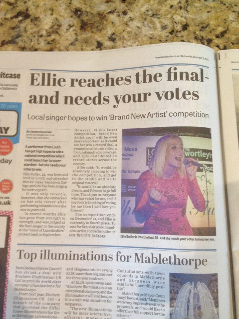 I'm in @LouthLeaderNews woo hoo thank you @LouthLJames x http://t.co/jm5h7Zb6Gy