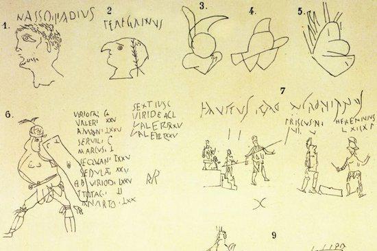 Ancient vandalism? On Roman graffiti http://t.co/upsy75fPww http://t.co/JC6PzJzCbY