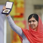 RT @BuzzFeedNews: 17-Year-Old Malala Yousafzai Accepts Nobel Peace Prize http://t.co/SbJZMIOWil