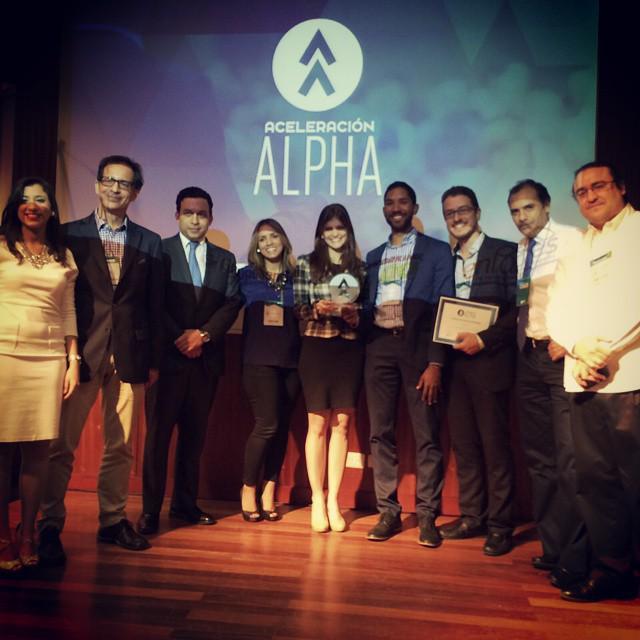 It's showtime! And the winner is...Edupass! #AceleracionAlpha @Acelera_Alpha @globaledupass http://t.co/4i7AqHtODT