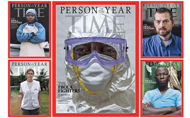 .@Time honors the Ebola Fighters as Person of the Year: