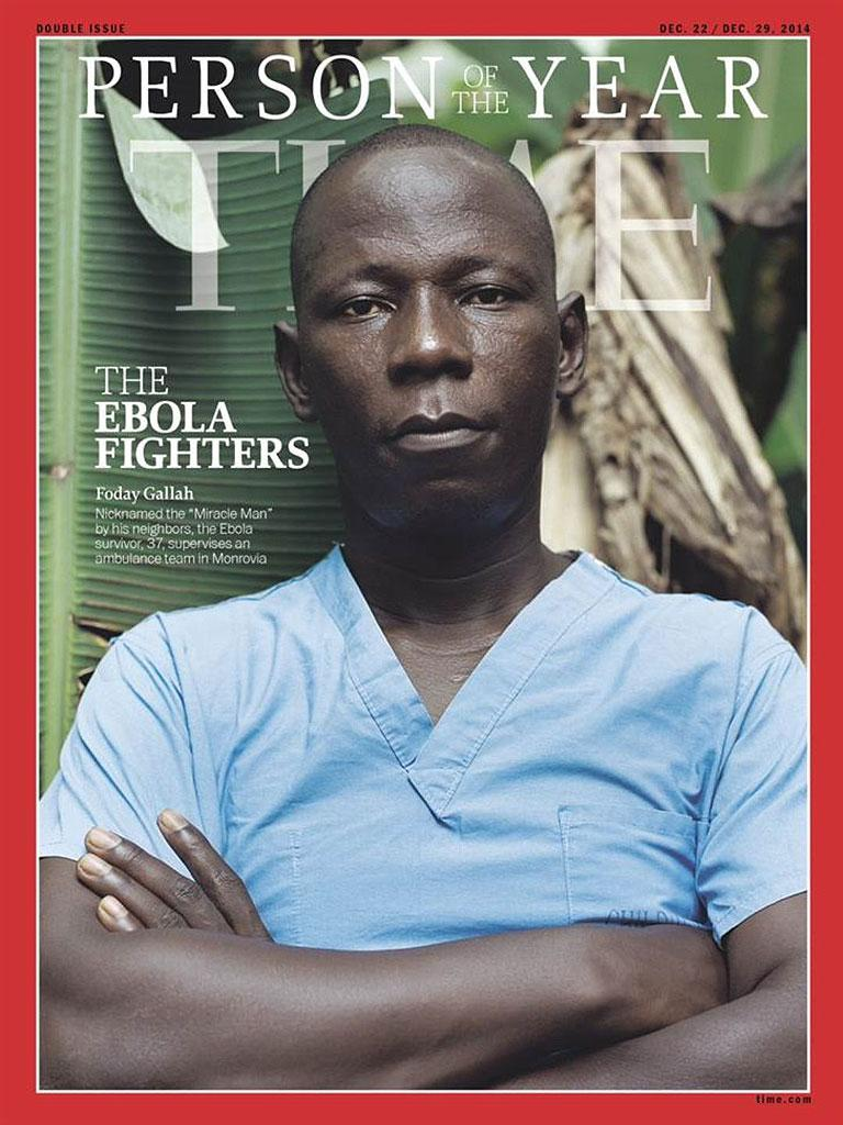 ICYMI: The ebola caregivers have been named @TIME's Person of the Year