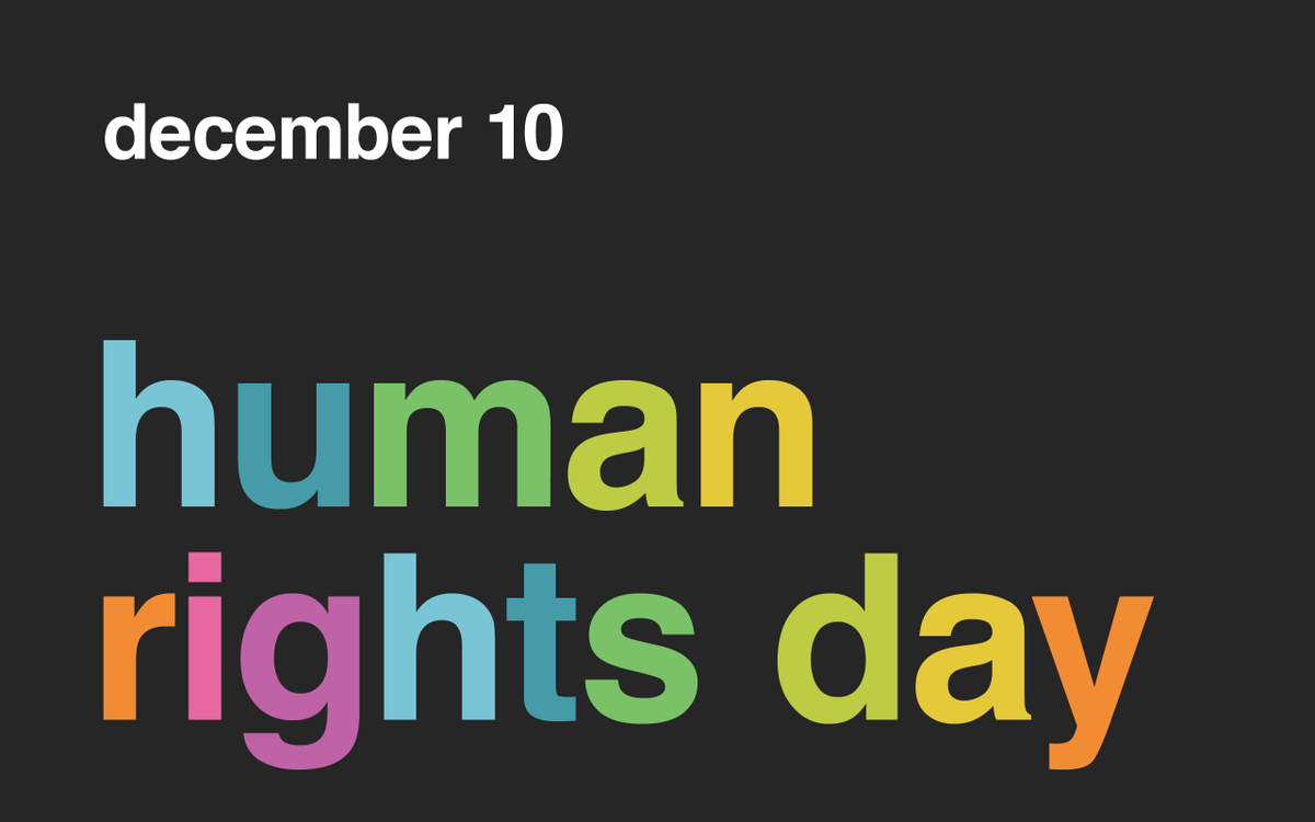 Today is #HumanRightsDay. What will you do to help make a better world? http://t.co/7yhQPHUP15
