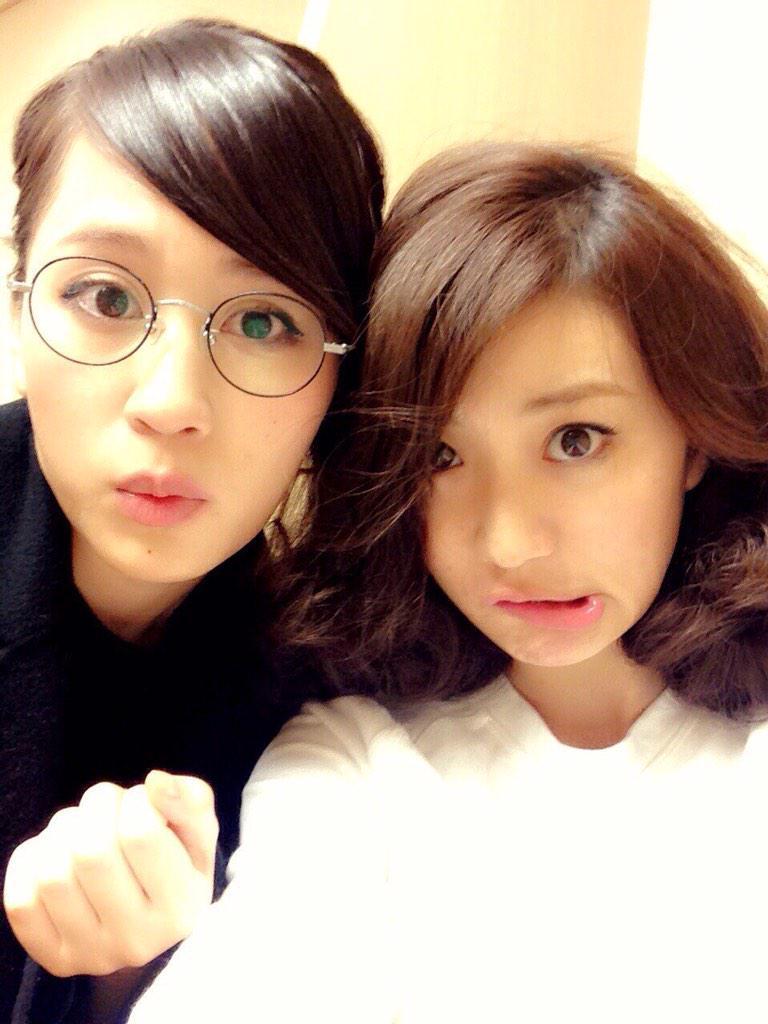 前田敦子と大島優子のツーショット