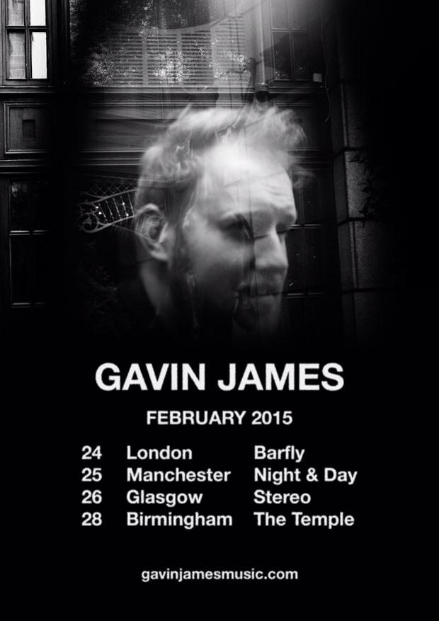 RT @edsheeran: Go and watch him. RT @gavinjames: Happy to announce my very first headline UK tour :) tickets go on sale Friday x http://t.c?