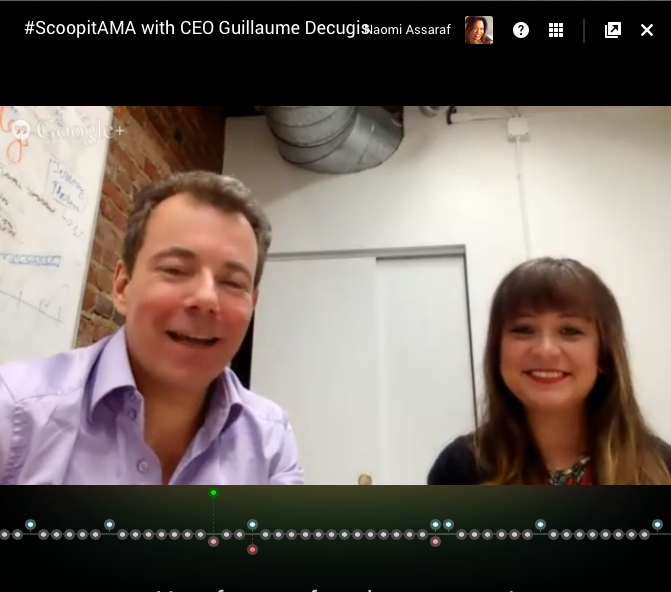 """""""If you don't publish content, you don't exist"""" ~@gdecugis, CEO of @scoopit #ScoopitAMA http://t.co/uZI8Z1wIVs"""