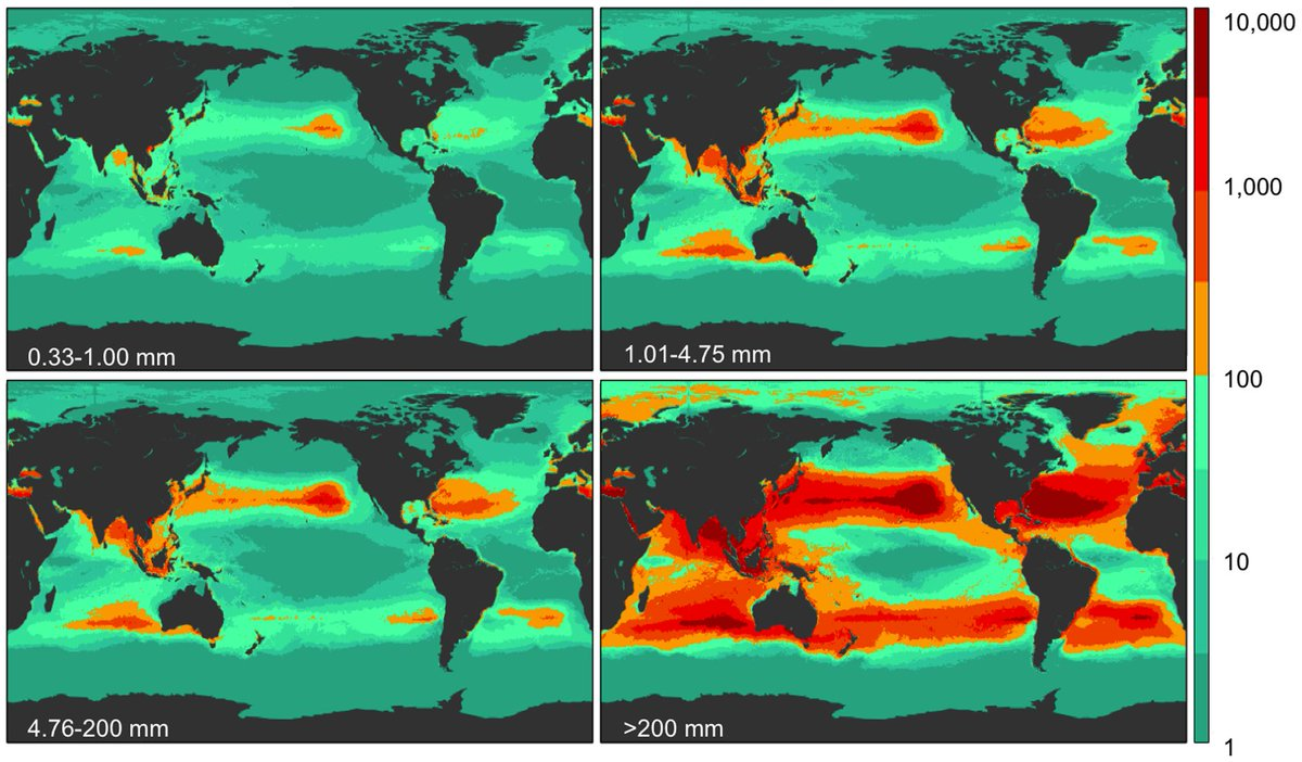 Plastic Pollution in World's Oceans: > 5 Trillion Pieces Weighing > 250,000 Tons Afloat at Sea http://t.co/cOH3sThu0s http://t.co/hzxGaqTB4K