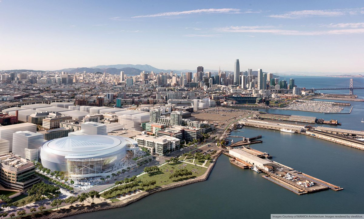 We just unveiled the latest renderings of the @Warriors sports & entertainment center in SF. http://t.co/GHHByNsoRK http://t.co/6nGWDkmRCV