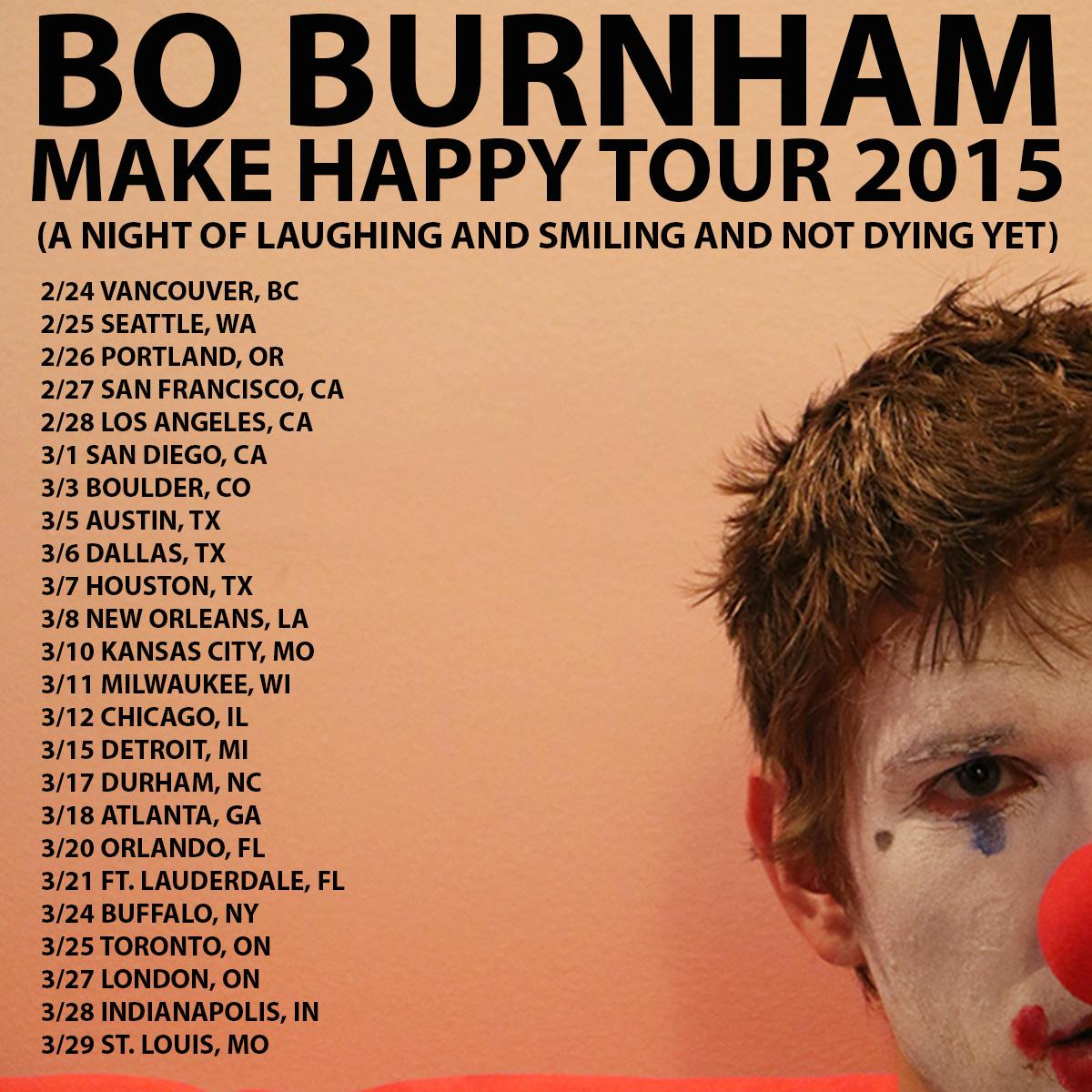 RT @boburnham: PRESALE for the tour is tomorrow, noon local time. Password: 'HAPPY' tix at http://t.co/qKyx777Tr4 #cantwait #lotsfun http:/?