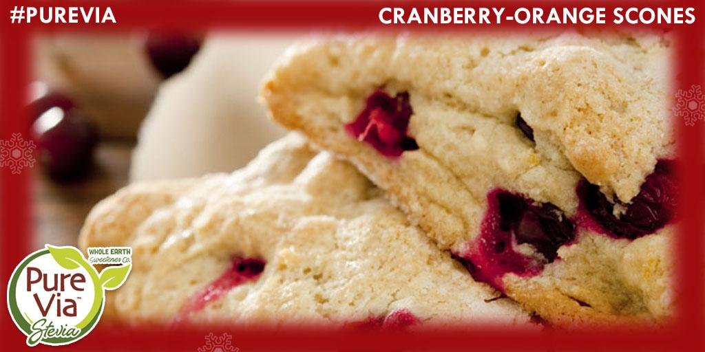 If your family loves brunch, these Cranberry Orange Scones are a great addition. #PureVia http://t.co/kLLa7N8dy2 http://t.co/Uy3zT16zmt