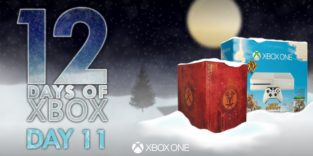 2 weeks till Xmas!  Retweet for your chance to win an #XboxOne with Sunset Overdrive & Far Cry 4: Kyrat Edition! http://t.co/rkLRoiFTxZ