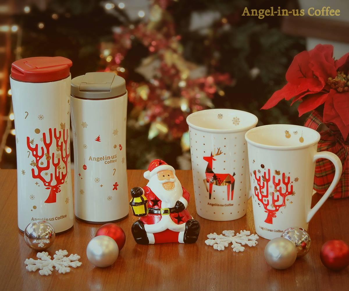 Christmas D-14  '두근두근' 반짝이는 설렘을 함께할 크리스마스 텀블러와 머그 http://t.co/kSeqFXnvhI