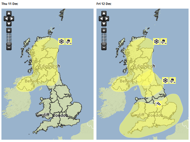 Severe weather warnings for #snow, #ice & #wind have been issued. Stay #weatheraware at http://t.co/ziqeF98g9I http://t.co/xWM9FrSZXe