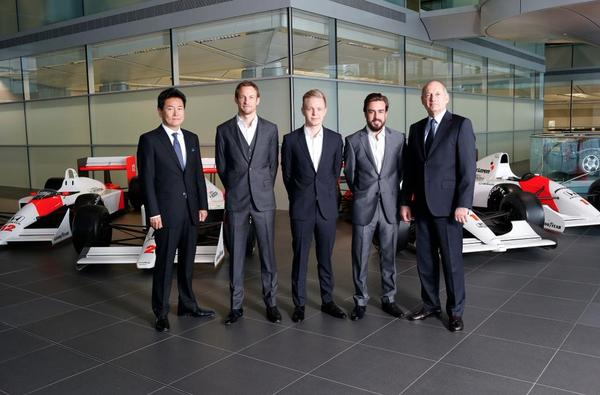 ¡Mucha suerte a Fernando Alonso en su nueva etapa con McLaren! ¡Ya es OFICIAL! Su compañero será Jenson Button. http://t.co/eH8UZiR4Pp