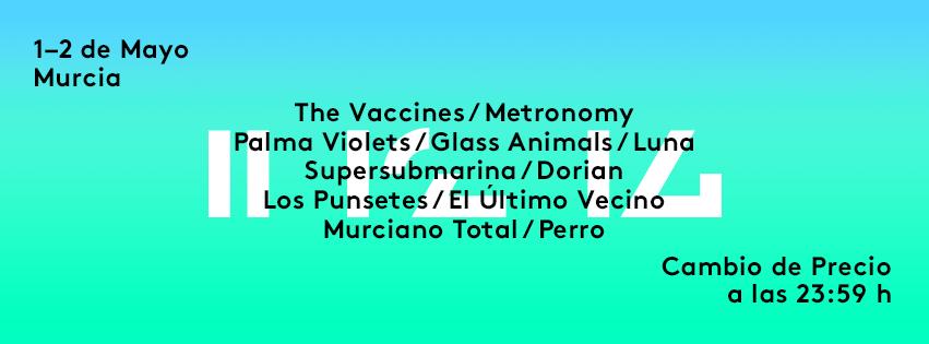 El @SOS48Festival ya tiene sus primeros nombres: @thevaccines, @metronomy, @lospunsetes, @PalmaViolets y más... http://t.co/v1na4XDXWI
