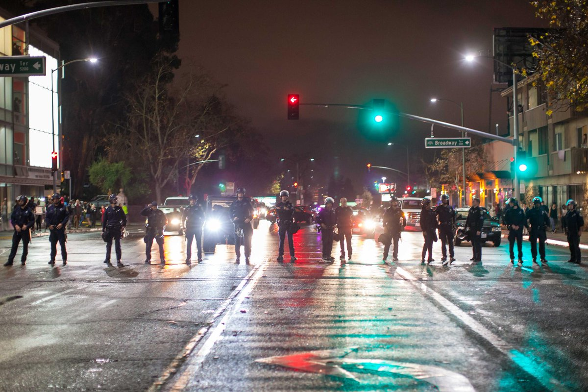 In today's top news: Protests are costing #Oakland $100K per day in police overtime http://t.co/14XL9mbCps http://t.co/VJ36Gv6kvS
