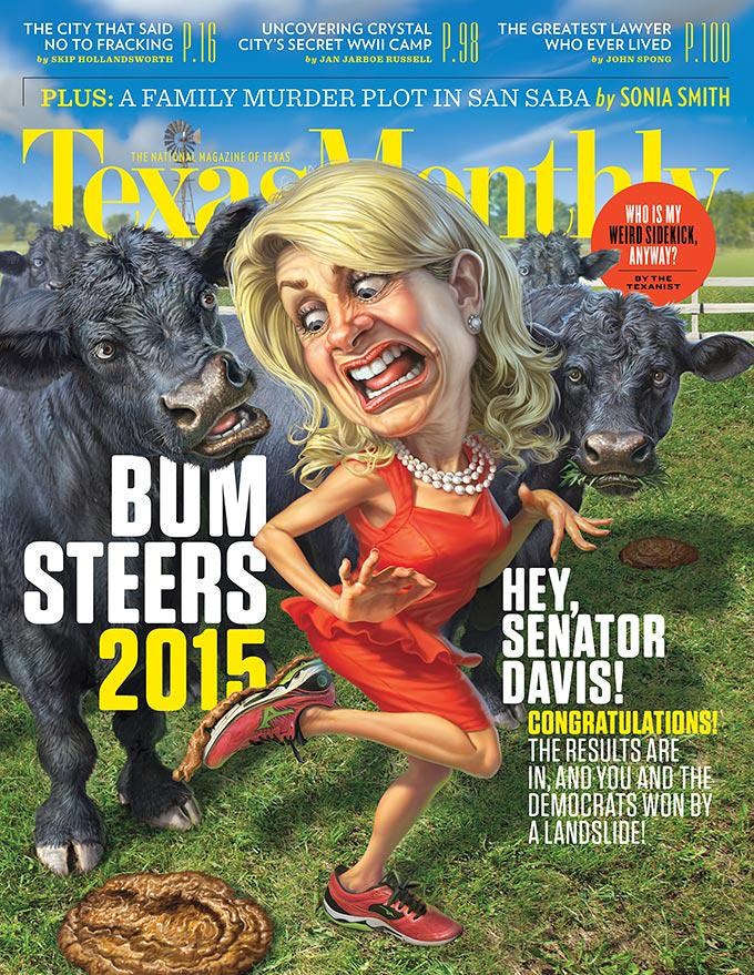.@WendyDavisTexas CONGRATS! #txlege MT @TexasMonthly: the Bum Steer of the Year award goes to http://t.co/W4vFJ9quBv http://t.co/NZ17PoKsKu