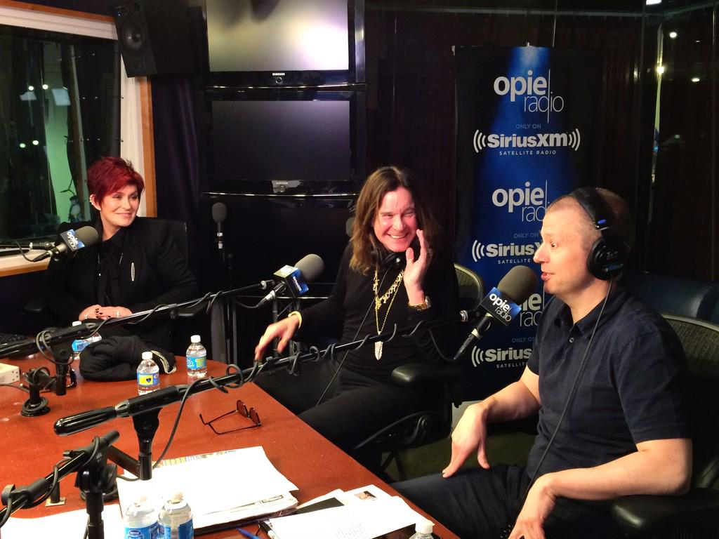 In-studio: Ozzy & Sharon Osbourne [12-11-2014] http://t.co/DnJ3zO2nS5