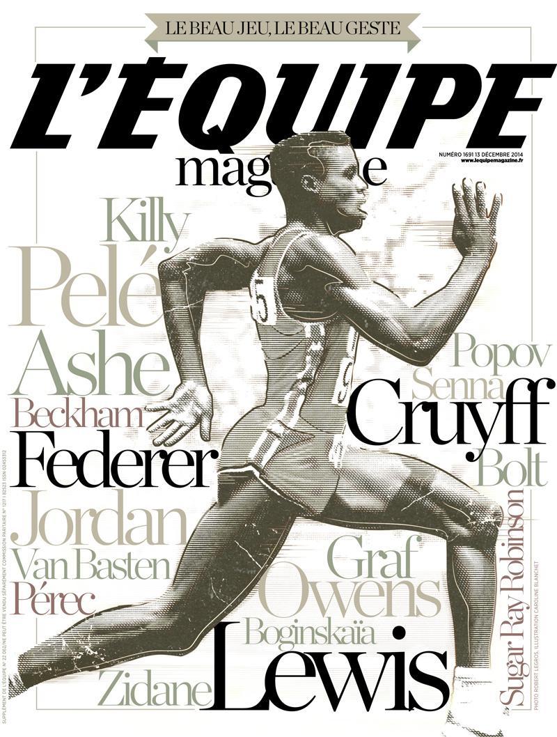 Le beau jeu, le beau geste. À la une de L'Équipe Magazine samedi. #specialelegance http://t.co/JY827dnuaR