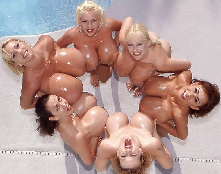 "BettysBoobs®️ on Twitter: ""Circle of massive boob babes # ..."