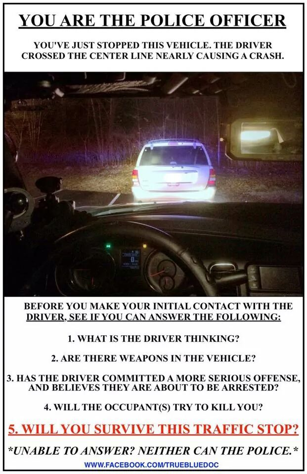 YOU ARE THE POLICE OFFICER: http://t.co/DmKdZnrPmf