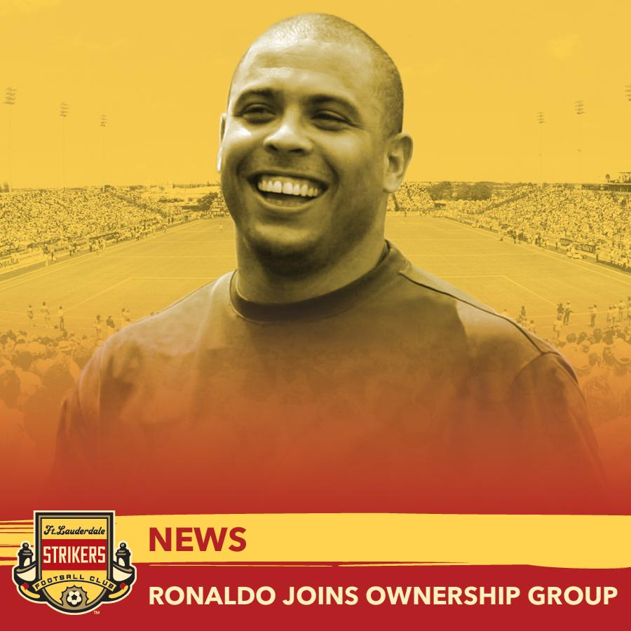 Confirmed: @Ronaldo Joins @FTLStrikers Ownership Group- http://t.co/IEiN5IKaSP #WelcomeRonaldo http://t.co/bPO5v4dxA3