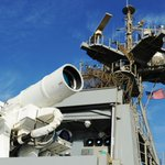 See the U.S. Navy's terrifying new laser weapon in action: http://t.co/hfSSErtrR9 http://t.co/ixyprIrtgA