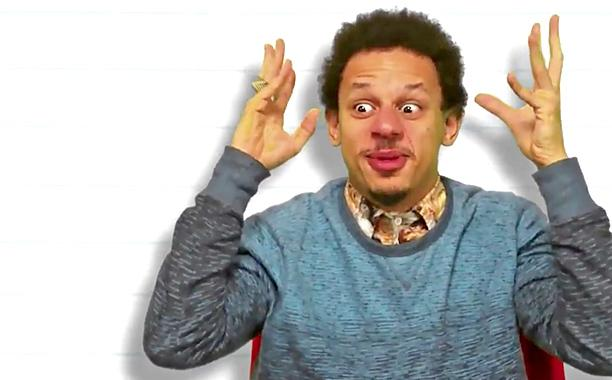 Eric Andre shares clip with Wiz Khalifa, takes our Pop Culture Personality Test: