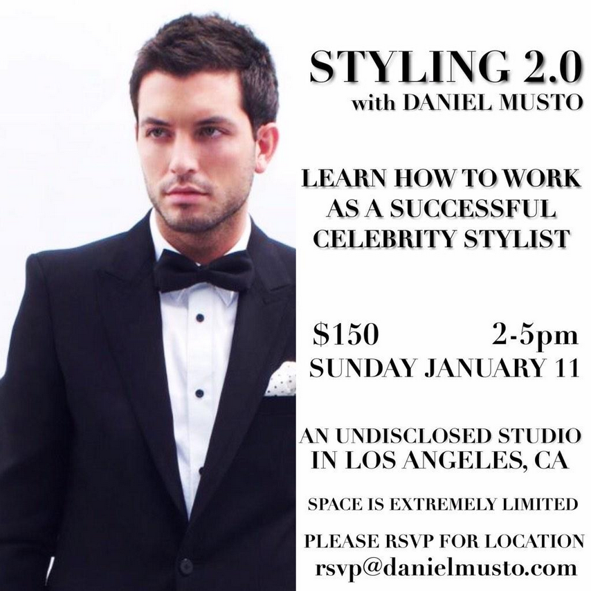 If I didnt get to answer ur question today, come see me in person at my seminar in January! #stylist #fashionstudent http://t.co/GrGGDLMr0U