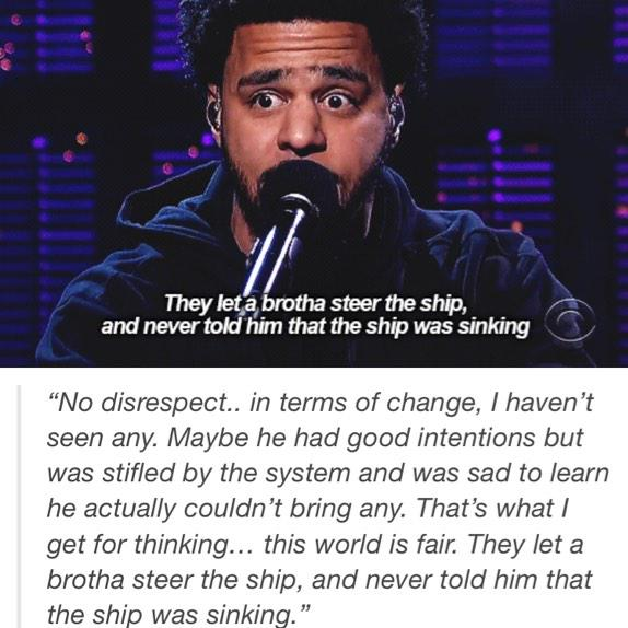 """@ChrisTha_Kidd: J.Cole on Obama. http://t.co/pn41XBJQzZ"""