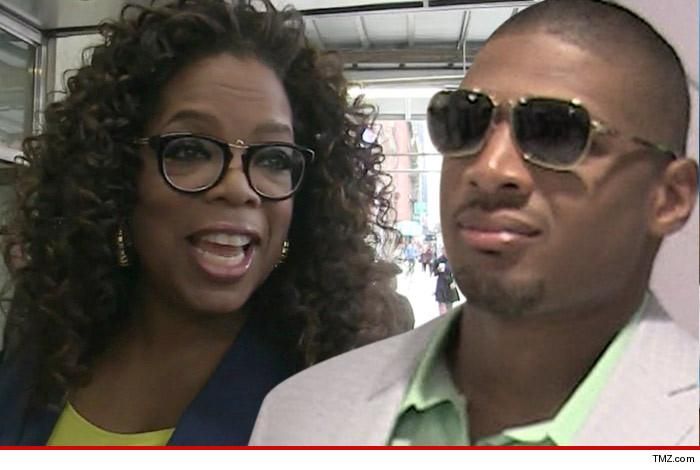 Oprah Winfrey is back in business with Michael Sam