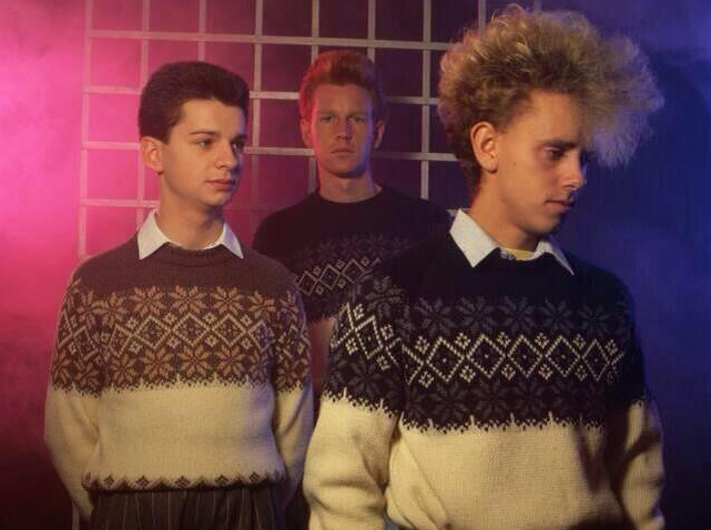 #ChristmasJumperDay made even more special by #depechemode wearing festive themed knitwear... http://t.co/ZVwYHDsIpt