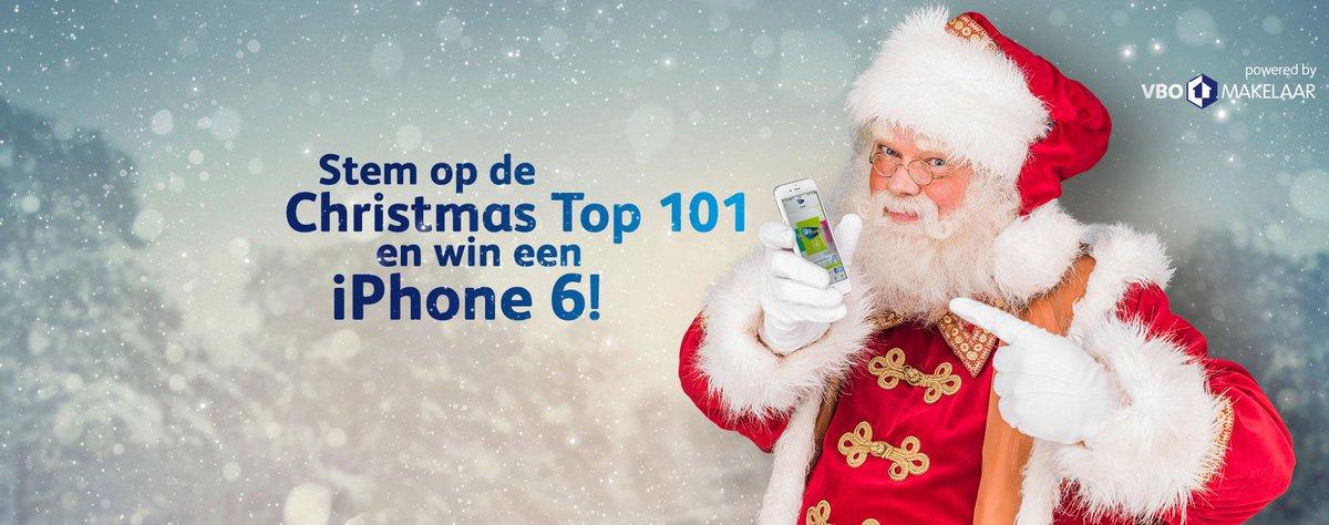 Laatste dag! Stem op de Christmas Top 101 @skyradio101fm en win een iPhone 6! http://t.co/Z3NUJgbWvr… http://t.co/kXUgR5ktXM #VBO
