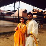Had a great Darshan @Guruvayoor temple..best way to celebrate our wedding anniversary .. http://t.co/La19iPo1Sm