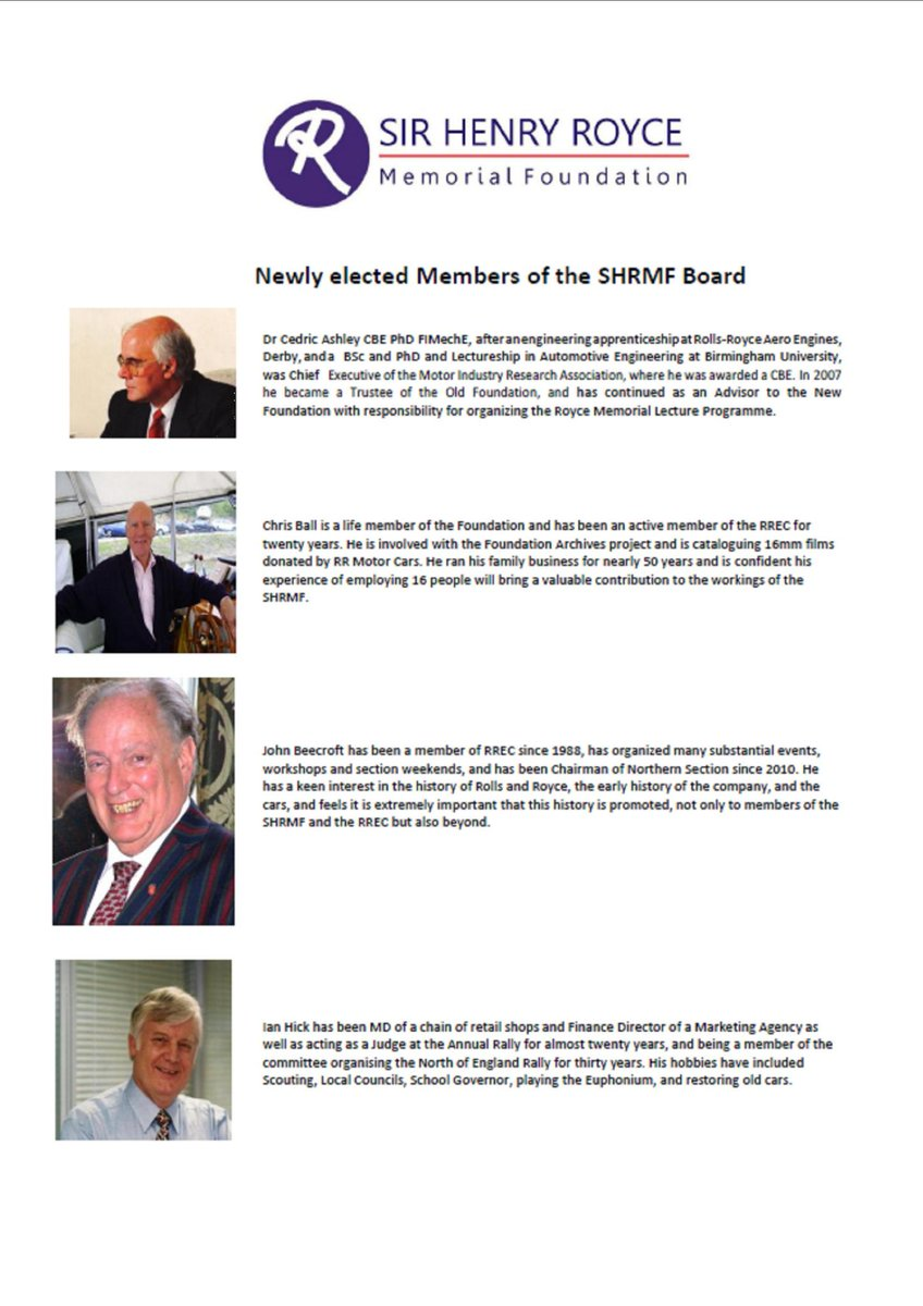 test Twitter Media - New #Board #Members of the @HenryRoyceFound @rollsroyce : http://t.co/36ojkQNVCc http://t.co/HT0PBf27un
