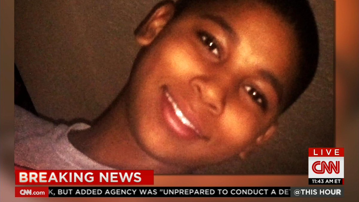 Cleveland police's fatal shooting of 12 year old Tamir Rice is officially ruled a homicide: http://t.co/gvplszXZi6 http://t.co/883GjWIu76