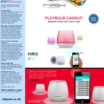 #Competition #giveaway #WIN a PlayBulb Candle thanks to @MiPowuk simply RT & follow @Hyperec_HRS #gadgets #giftideas http://t.co/LajEGAm2KC