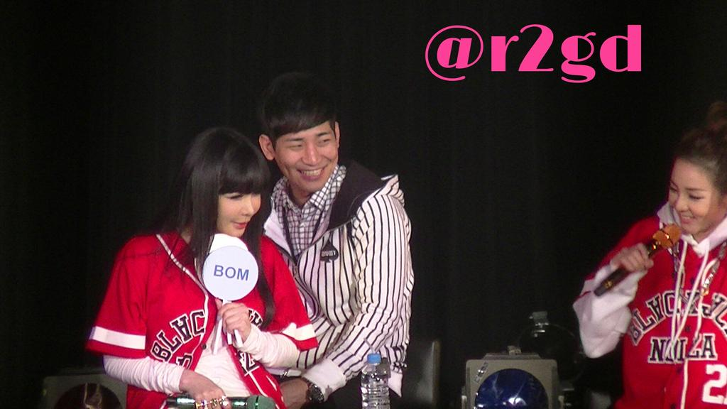 YGJのマネ満面の笑み←マニアック #2NE1 #BOM #DARA #manager #FANEVENT http://t.co/4Zs0SpxlPS